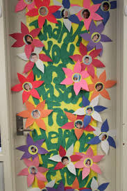backyards our version thanksgiving door decoration classroom