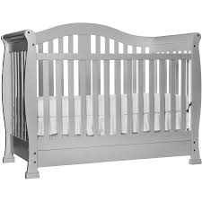 White Convertible Crib With Drawer On Me 5 In 1 Convertible Crib With Drawer Mystic
