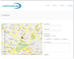 google map in contact us php ajax best form thempfa org