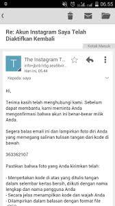 cara membuat akun instagram secara online akun instagram saya kena razia dan dihapus tipsjualonline