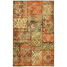Orange Area Rugs Mohawk Home Prismatic Antioch Area Rug 5 X8 5 X 8 Free