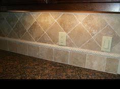 tile backsplash love travertine the dream house pinterest