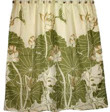 Hawaiian Curtain Fabric Astounding Tropical Shower Curtains Fabric 59 On New Trends With