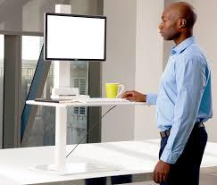 Sit To Stand Desk Converter by Yo Yo Desk Go Single Monitor Support Sit Stand Desk Riser Converter