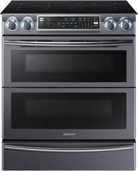 30 Downdraft Electric Cooktop Slide In Electric Ranges Aj Madison