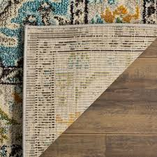 mistana newburyport grey u0026 silver area rug u0026 reviews wayfair