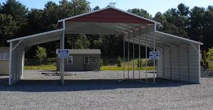 modern simple design of the metal carport plans can be decor with