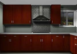 Red Ikea Kitchen - optimizing kitchen space with contemporary ikea cabinets