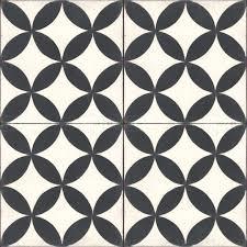 black and white tile floor home tiles