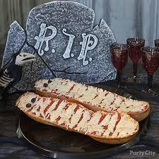 halloween mummy french bread idea party city