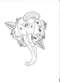 elephant god tattoo by roors on deviantart