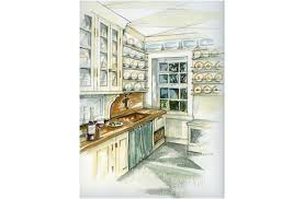 Kitchen Design Drawings Kitchen Design Drawings And Interior Design Photos By Joan Picone