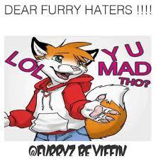 Furry Meme - dear furry haters dank meme on me me