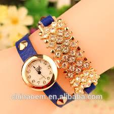quartz diamond bracelet images Women 39 s diamond bracelet style wrist watch luxury diamond women jpg