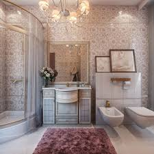 Bathroom In French by Classic Interior Design Style Classicism Style