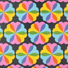 flower wrapping paper sukie wrapping paper hearts and flowers design