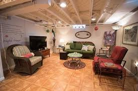 How Much Does It Cost To Refinish A Basement by Black Painted Basement Ceiling Vs White Painted Basement Ceiling