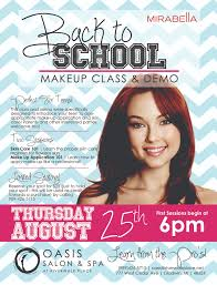 Makeup Schools In Pa Make Up Class U0026 Demo Gladwin County Chamber Of Commerce