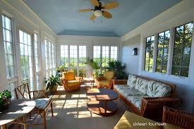 Screened In Porch Decor by Screened In Porch Ideas White Wicker The Garden Inspirations