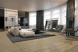 Wohnzimmer Ideen Retro Teppich Wohnzimmer Gestreift Modern Mit Konturenschnitt In Lila