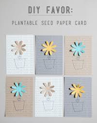 seed paper favors simple diy plantable seed paper favor something turquoise