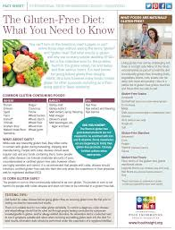 the gluten free diet what you need to know ific foundation