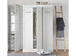 armoires de chambre déco chambre armoire penderie en bois blanc fashion maman