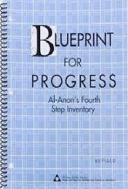 blueprint for progress al anon u0027s fourth step inventory workbook