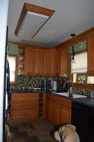 Kitchen Fluorescent Lighting Fixtures by Replacing The Overhead Florescent Light In The Kitchen Our Wolf Den