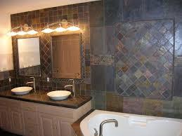 Slate Tile Bathroom Ideas Bathroom Slate Tile Ideas 51 In Home Office Design Ideas