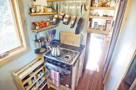 Tiny House Kitchen Designs Peek Inside This 240 Sq Ft Tiny Project Houses Small House Decor