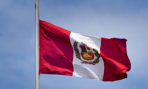Lima Flag Lima Our First Steps In Peru A Globe For Two