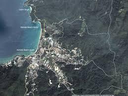 Phuket Thailand Map Large Map Of Kamala Beach Phuket Thailand Kamala Beach Map And