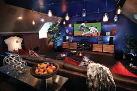 Media Game Room - game and entertainment rooms featuring witty design ideas
