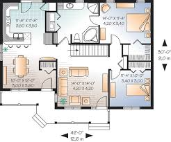 compact house design country details brighten compact home plan 21661dr