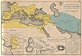 Rome World Map by The Expansion Of Rome 1st Century B C