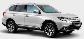 mitsubishi white mitsubishi motors malaysia introduces enhanced outlander suv gets