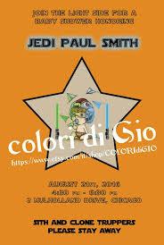 Star Wars Baby Shower Invitations - star wars baby shower invitation luke skywalker by giodimetal on