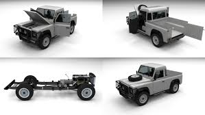 land rover pickup truck land rover defender 90 model