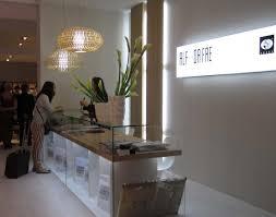 White Desk Glass Top Graceful Concept Salon Front Desk Under The Standing Desk