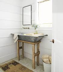 sink bathroom decorating ideas 36 beautiful farmhouse bathroom design and decor ideas you will go