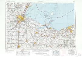 Marion Ohio Map by Toledo Topographic Maps Oh Mi Usgs Topo Quad 41082a1 At 1