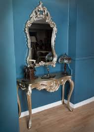 console table and mirror set console table mirror set