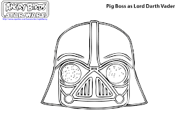 angry birds star wars 2 coloring pages darth maul murderthestout