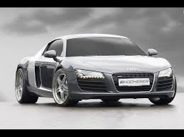 Audi R8 Front - 2008 kicherer audi r8 front angle 2 1600x1200 wallpaper