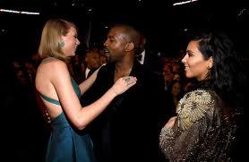 kim kardashian snapchats kanye and swift talking