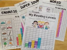 Peechy Folder Student Data Graphs Goal Setting And Self Reflection Sheets K 2