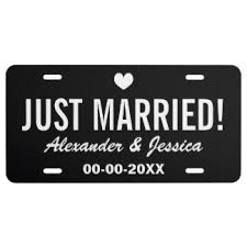 and groom plates and groom license plates zazzle