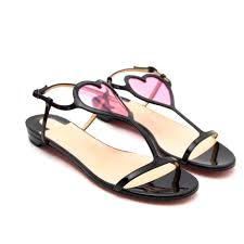 christian louboutin cora patent flats your go to shopping place