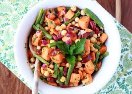 three bean sweet potato salad kitchen treaty